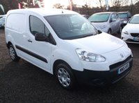 USED 2015 15 PEUGEOT PARTNER 1.6 HDI S L1 850 1d 89 BHP **Economical  -  Great Spec - FSH - Excellent van  - Drives superbly**