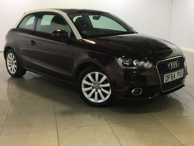 View our 2014 64 AUDI A1 1.2 TFSI SPORT 3d 84 BHP