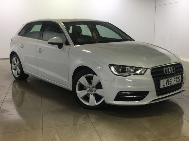 View our 2015 15 AUDI A3 1.6 TDI SPORT 5d 109 BHP
