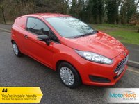 USED 2013 63 FORD FIESTA 1.6 ECONETIC TDCI 1d 94 BHP Fantastic Value Very Well Cared For Fiesta Diesel Van with Service History