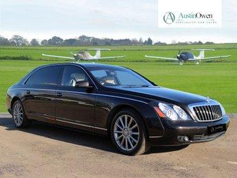 2010 MAYBACH 62 6.0 S V12 4d AUTO 604 BHP - ZEPPELIN £179990.00
