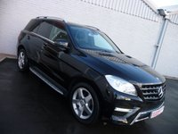 2012 MERCEDES-BENZ M CLASS 2.1 ML250 BLUETEC AMG SPORT 5d AUTO 204 BHP £21495.00