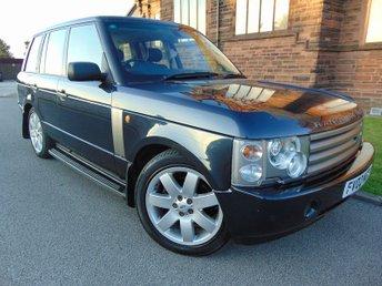 2002 LAND ROVER RANGE ROVER 4.4 V8 HSE 5d AUTO 282 BHP £4995.00