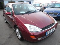 USED 2000 W FORD FOCUS 2.0 GHIA 5d 129 BHP