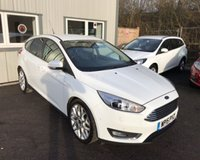 USED 2015 15 FORD FOCUS 1.5 TDCI TITANIUM X 120 BHP THIS VEHICLE IS AT SITE 2 - TO VIEW CALL US ON 01903 323333