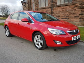 2012 VAUXHALL ASTRA 1.6 SRI 5d 113 BHP £4800.00