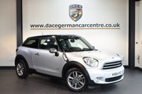 USED 2014 64 MINI PACEMAN 1.6 COOPER ALL4 3DR CHILI PACK 121 BHP + FULL BLACK LEATHER INTERIOR + FULL SERVICE HISTORY + BLUETOOTH + HEATED SEATS + PARORAMIC ROOF + LIGHT PACKAGE + AUTO AIR CONDITIONING + RAIN SENSORS + DAB RADIO + 16 INCH ALLOY WHEELS +
