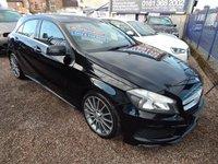 2013 MERCEDES-BENZ A CLASS 2.1 A220 CDI BLUEEFFICIENCY AMG SPORT 5d AUTO 170 BHP £11995.00