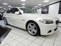 2013 BMW 5 SERIES 520D M SPORT AUTO 181 BHP £14425.00