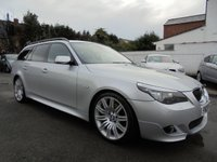 USED 2009 09 BMW 5 SERIES 3.0 525D M SPORT BUSINESS EDITION TOURING 5d 195 BHP