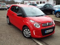 USED 2015 64 CITROEN C1 1.0 TOUCH 3d 68 BHP NEW MODEL