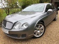 2012 BENTLEY CONTINENTAL FLYING SPUR 6.0 FLYING SPUR 4d 552 BHP £43900.00