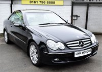 USED 2007 57 MERCEDES-BENZ CLK 1.8 CLK200 KOMPRESSOR ELEGANCE 2d AUTO 181 BHP * NATIONWIDE WARRANTY INCLUDED *