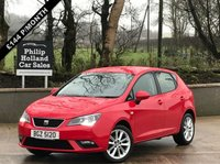 USED 2016 SEAT IBIZA 1.0 VISTA 5d 74 BHP MASSIVE SPEC, TOUCHSCREEN DAB RADIO,  REAR PARKING SENSORS, BLUTOOTH, CRUISE CONTROL
