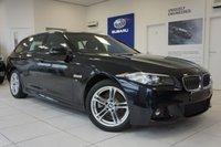 USED 2015 65 BMW 5 SERIES 2.0 520D M SPORT TOURING 5d AUTO 188 BHP FSH - 1 Owner - SAT NAV