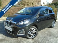 USED 2015 64 PEUGEOT 108 1.2 ALLURE 3d 82 BHP ** £0 TAX + KEYLESS ENTRY + B/TOOTH **