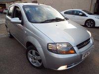 2007 CHEVROLET KALOS 1.4 SX 5d 93 BHP £2485.00