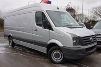 USED 2016 66 VOLKSWAGEN CRAFTER 2.0 CR35 LWB TDI S P/V BMT 1d 140 BHP FSH - Front And Rear Parking Sensors
