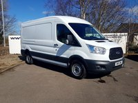 2015 FORD TRANSIT  350 2.2 125 BHP L3 H2 P/V RWD **70 VANS IN STOCK** £10750.00