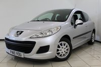 USED 2010 10 PEUGEOT 207 1.4 S HDI 3DR 68 BHP SERVICE HISTORY + AIR CONDITIONING + MULTI FUNCTION WHEL + RADIO/CD + ELECTRIC WINDOWS + ELECTRIC MIRRORS
