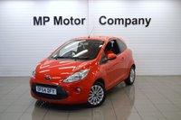 2014 FORD KA 1.2 ZETEC 3d 69 BHP £5795.00