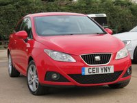 USED 2011 11 SEAT IBIZA 1.4 CHILL 3d 85 BHP *AA DEALER PROMISE READY TO DRIVE AWAY TODAY*