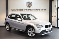 USED 2010 60 BMW X1 2.0 XDRIVE20D SE 5DR 4X4 AUTO 174 BHP + FULL BLACK LEATHER INTERIOR + PANORAMIC ROOF + HEATED SPORT SEATS + CRUISE CONTROL + RAIN SENSORS + AUTO AIR CONDITIONING + LIGHT PACKAGE + PARKING SENSORS + 17 INCH ALLOY WHEELS +