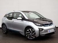 USED 2014 14 BMW I3 0.6 I3 RANGE EXTENDER 5d AUTO 168 BHP BEAUTIFUL EXAMPLE with the IMPORTANT RANGE EXTENDER & PROFESSIONAL SATELLITE NAVIGATION