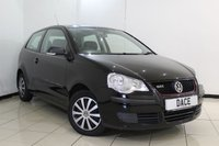 USED 2008 58 VOLKSWAGEN POLO 1.2 E 3DR 59 BHP SERVICE HISTORY + AIR CONDITIONING + RADIO/CD + ELECTRIC WINDOWS + ELECTRIC MIRRORS