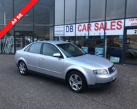 USED 2003 03 AUDI A4 2.0 SE 4d 129 BHP £0 DEPOSIT, DRIVE AWAY TODAY!!