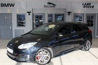USED 2013 62 FORD FOCUS 2.0 ST-3 5d 247 BHP WONDERFULLY WELL MAINTAINED WITH 5X SERVICE STAMPS + FULL LEATHER SEATS + BLUETOOTH + 18 INCH ALLOYS + HEATED FRONT RECARO SPORT SEATS + XENON HEADLIGHTS + PARKING SENSORS + CRUISE CONTROL