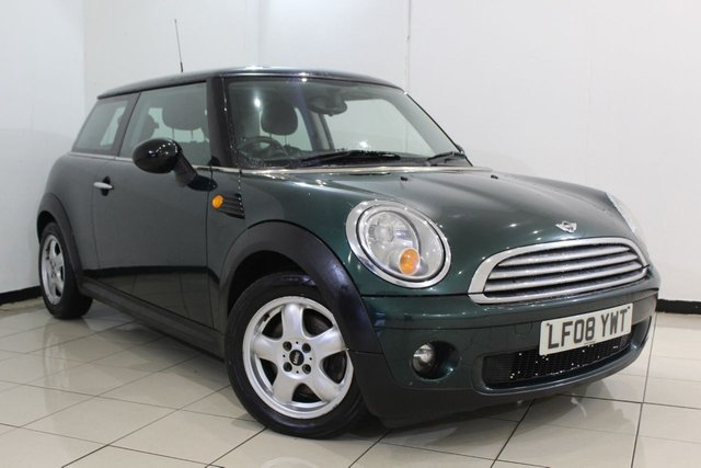 View our 2008 08 MINI HATCH COOPER 1.6 COOPER 3DR 118 BHP