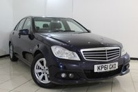USED 2011 61 MERCEDES-BENZ C CLASS 2.1 C200 CDI BLUEEFFICIENCY SE EDITION 125 4DR AUTOMATIC 136 BHP MERCEDES SERVICE HISTORY + SAT NAVIGATION + PARKING SENSOR + BLUETOOTH + CRUISE CONTROL + MULTI FUNCTION WHEEL + 16 INCH ALLOY WHEELS