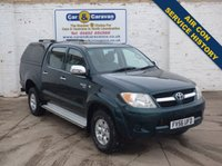 USED 2006 56 TOYOTA HI-LUX 2.5 HL3 SWB 4X4 DCP 1d 103 BHP Service History A/C  +VAT 0% Deposit Finance Available