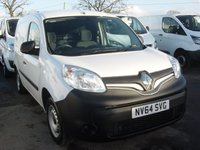 2014 RENAULT KANGOO 1.5 ML19 DCI 1d 75 BHP ONLY 43000 MILES £SOLD