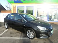 USED 2012 62 VAUXHALL ASTRA 1.4 SRI 5d 98 BHP 12 MONTHS MOT...6 MONTHS WARRANTY..JUST ARRIVED