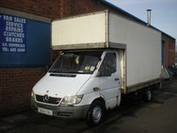 2004 MERCEDES-BENZ SPRINTER 2.2 311 CDI LWB 1d 109 BHP LUTON VAN WITH TAIL LIFT £995.00