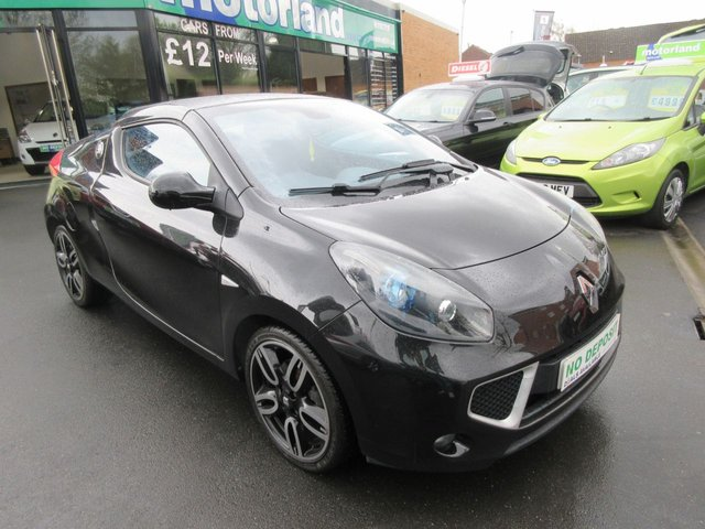 USED 2011 61 RENAULT WIND ROADSTER 1.6 GT LINE VVT 2d 133 BHP CONVERTIBLE 2 SEATER..CALL 01543 379066