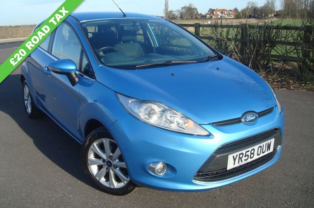 2008 58 FORD FIESTA 1.4 ZETEC TDCI 5d 68 BHP LOW ROAD TAX £20 A YEAR MINT