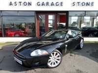 USED 2006 06 JAGUAR XK 4.2 COUPE 2d AUTO 294 BHP ** SAT NAV ** ** SAT NAV * LEATHER **