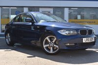 USED 2010 10 BMW 1 SERIES 2.0 123D SE 2d AUTOMATIC with SAT NAV THE CAR FINANCE SPECIALIST