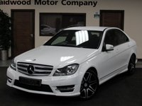 2013 MERCEDES-BENZ C CLASS 2.1 C220 CDI BLUEEFFICIENCY AMG SPORT PLUS 4d AUTO 168 BHP £12990.00