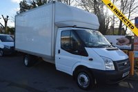 USED 2012 12 FORD TRANSIT 2.2 350 DRW 1d 124 BHP LUTON BODY  A very spacious and well cared for 2012 Ford Transit Luton body with an electric tail lift for just £9499 + vat.