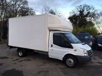USED 2011 61 FORD TRANSIT 2.4 T350/115 E/F DRW LUTON WITH TAIL LIFT Long Wheel Base Luton With Tail Lift