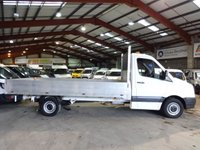 2015 VOLKSWAGEN CRAFTER 2.0 CR35 TDI 136 BHP LWB DROPSIDE/PICK UP -ONE OWNER- FULL SERVICE HISTORY  £10495.00