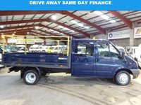 "USED 2011 11 FORD TRANSIT 2.4 T350 DRW LWB DOUBLE CAB 115 BHP DROPSIDE/PICK UP ""YOU'RE IN SAFE HANDS"" - AA DEALER PROMISE"