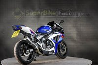 USED 2008 08 SUZUKI GSXR750 750CC 0% DEPOSIT FINANCE AVAILABLE GOOD & BAD CREDIT ACCEPTED, OVER 500+ BIKES IN STOCK