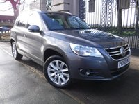 USED 2010 60 VOLKSWAGEN TIGUAN 2.0 MATCH TDI 4MOTION 5d 138 BHP *** FINANCE & PART EXCHANGE WELCOME *** AIR/CON BLUETOOTH PHONE PARK ASSIST FRONT & REAR PARKING SENSORS DAB RADIO