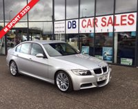 USED 2007 07 BMW 3 SERIES 3.0 325D M SPORT 4d AUTO 195 BHP £0 DEPOSIT, DRIVE AWAY TODAY!!