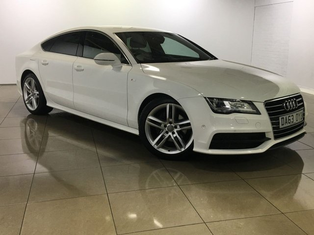 View our 2014 63 AUDI A7 3.0 TDI S LINE 5d AUTO 201 BHP